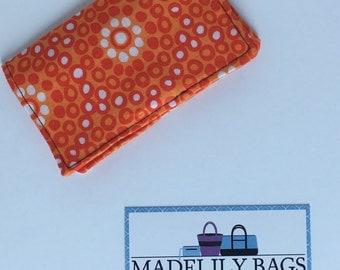 Credit Card,Business Card, Gift Card Holder, orange