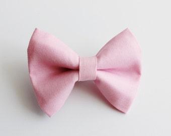 Bubble Gum Pink Bow Tie