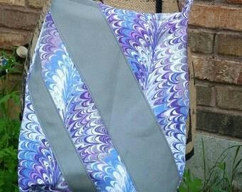 Ramona hipster bag - purple boho bag - crossbody bag - crossover bag - hippie bag - handbag - purse - Swoon bag - fabric purse