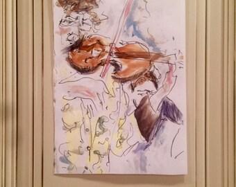 Violinist, 2016.