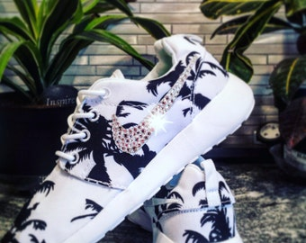 more photos f2894 faf86 nike roshe run palm trees etsy