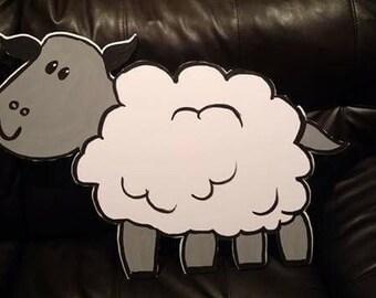 Sheep  Farm Animal Cutout