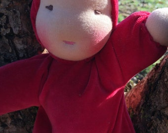 Waldorf Cuddle Doll