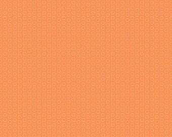 Circle Dot Orange from Riley Blake - 1/2 Yard