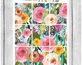 Wallpaper Stickers - Sublime - planner stickers - #freestyleplanning