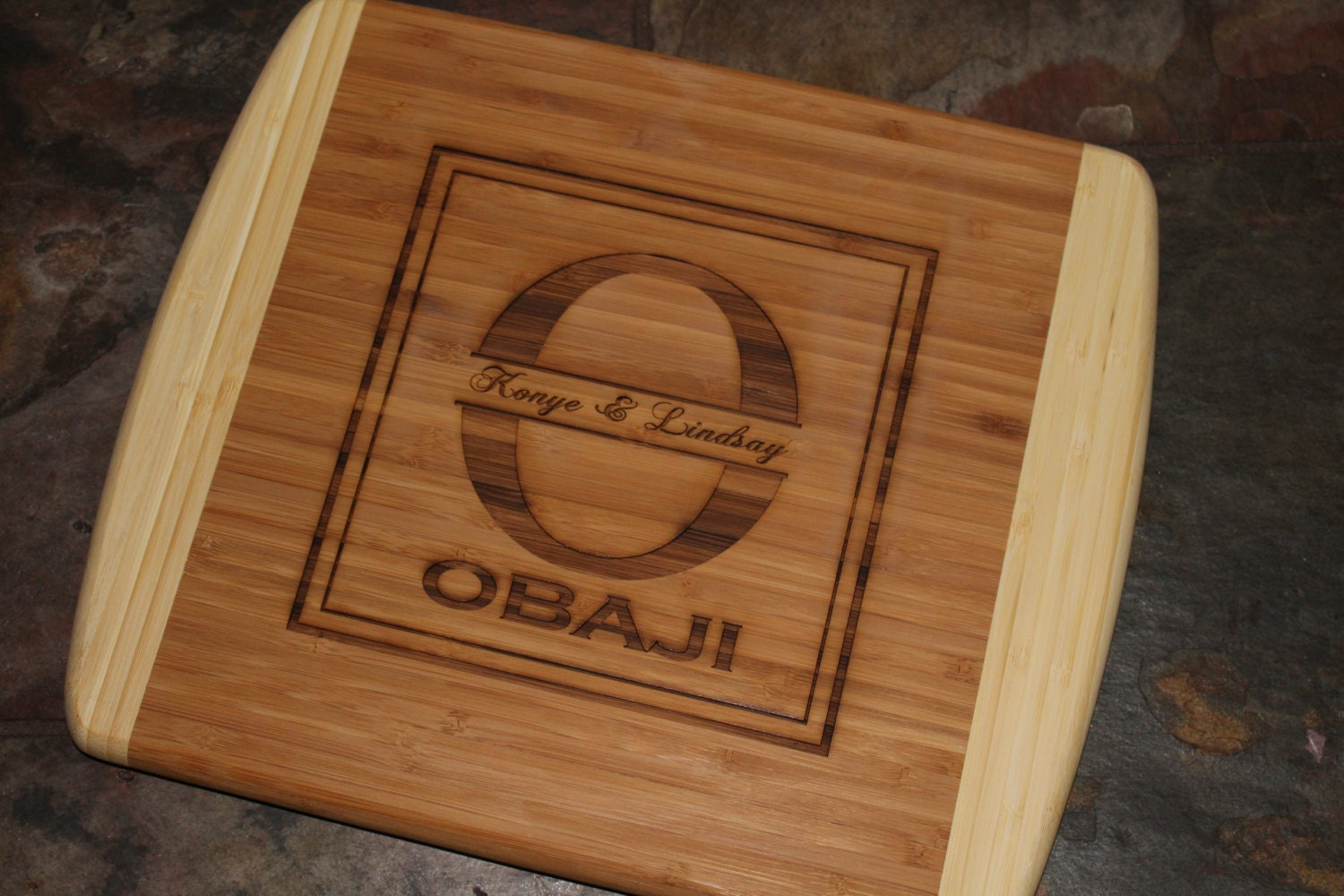 Personalized Cutting Boards ~ Cutting board personalized engraved by