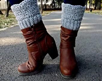 Boot Cuffs -Crochet Pattern - Boot Cuffs Crochet Pattern -Leg Warmers, Instant Download