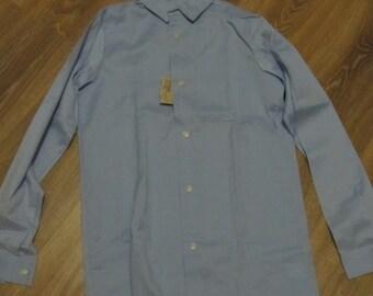 Soviet Vintage Cotton Men Shirt