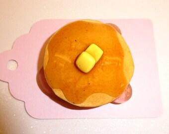 Big pancake magnet, Fake Food Magnet, Food Magnet, Faux Food Magnet, Fake Food Decoration, Food Decoration