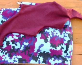 HALF PRICE Medium Mermaid Tail Snuggle Blanket ~ Lapghan~ Lap Blanket~ Snuggle Sack ~ Sofa Blanket ~ Fleece ~ Teens, Tweens & Adults