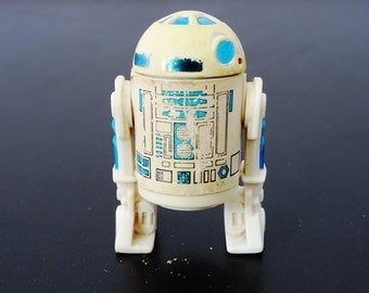 Star Wars Episode IV A New Hope Movie Genuine Original 1977 R2-D2 Figure with FREE POSTAGE in Australia