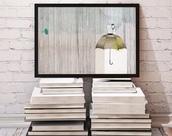 Rain or Water // 20 x 28 cm Print
