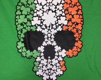 Irish Skull T-Shirt