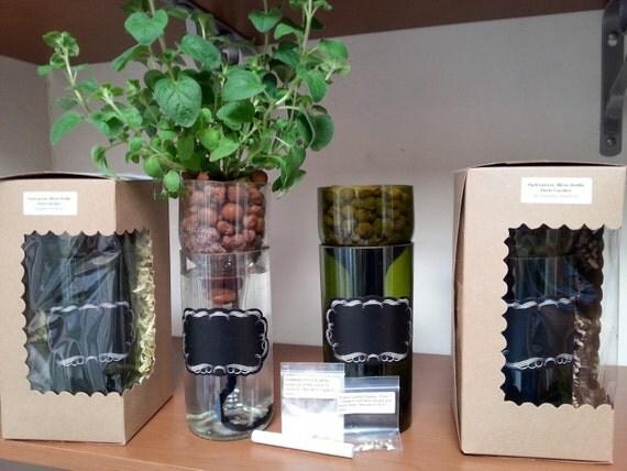 Self Watering Hydroponic Garden Gift Wine By