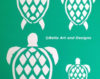 List 1 Assorted Ocean and Seashell Stencils  *Free gift with every order*