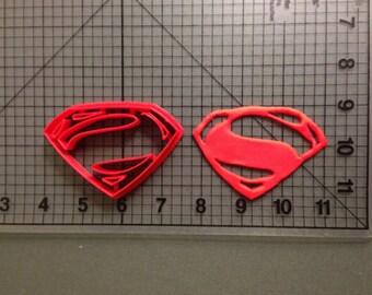 Superman Logo Cutter Super hero