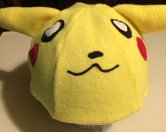 pokemon handmade snow helmet cover ski snowboard toboggan helmet cover pikachu hat helmet cover pokemon go