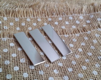 6 1/2' x 2' Rectangle 14g 1100 Food Safe Aluminum Stamping Blanks
