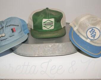 Vintage Hats- set of 3