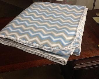 Crochet Fleece Blanket