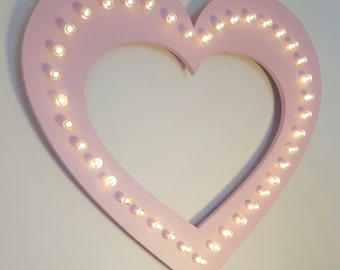 Large Marquee Heart