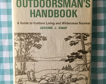 free shipping-The Complete Outdoorsman's Handbook vintage 1974 f