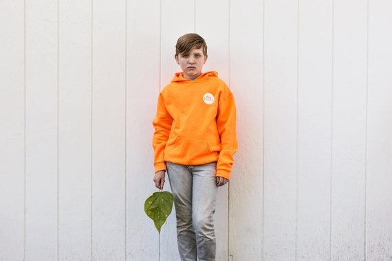 Nature Buddy Safety Fleece Hoodie in Blaze Orange (Youth)