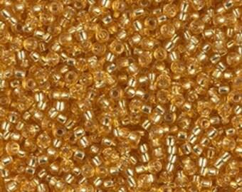 11/0 S/L Dk Gold #4  Miyuki Seed Beads - 10 grams