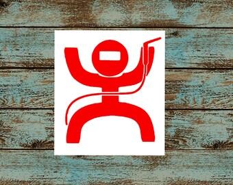Welder Decal/Welding Sticker/Pancake Hood/Vinyl Decal/Car, Truck, Window, Machine, Yeti, Cooler/Cowboy Welder/Hard Hat Sticker