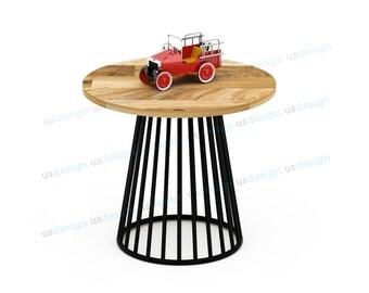 Circus Wood Side Table