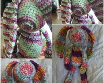 Crochet Yarn Rabbit