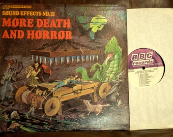 Sound Effect - More Death and Horror, BBC Record