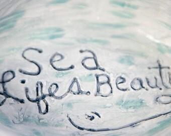 Sea Lifes Beauty Whale Dish