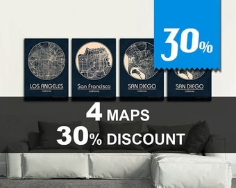 Special Offer! 4 MAPS - 30% DISCOUNT! Great deal!