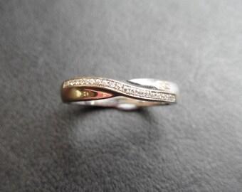 R20312 - Handmade Twist Band Ring