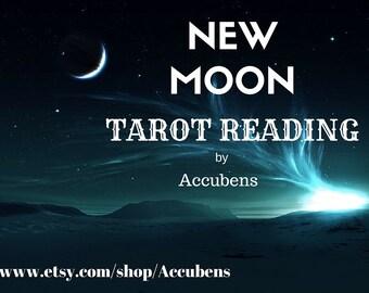 New Moon Psychic Tarot Reading