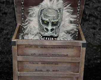 Fluffy CreepShow Crate monster figure