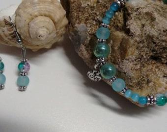 Set bracelet and earrings (21)