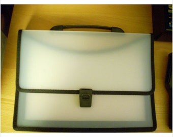 Translucent Poly Folio Carry Case Binder