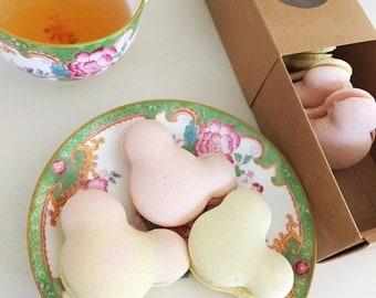 Full dozen fun shaped macarons