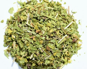 SKULLCAP | Organic | Herbal Tea | Herb | Loose Leaf | Tea Bags | Tea Tin | Iced Tea | Eco-Friendly