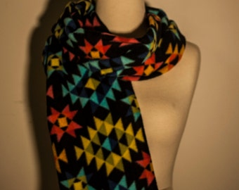 Geometric Colored Scarf