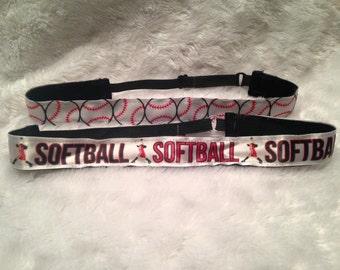 Softball Non-Slip Adjustable Headband