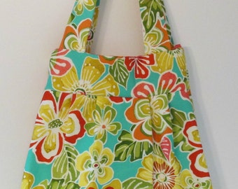 Colorful Hawiian Tote Bag
