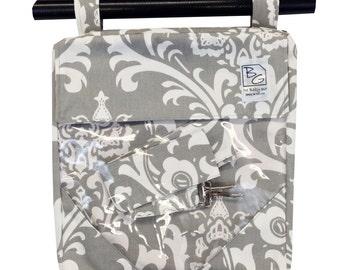 Gray Damask 3 Hour bag