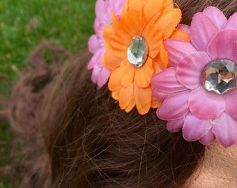 Pretty Daisy - Simplicity is Key - Rave Flower Headpiece