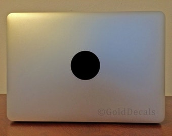 dot laptop decal