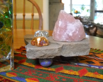 Rose Quartz Meditation Stone