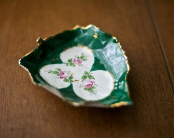 Chic French Hand Painted Soap Dish