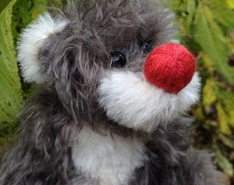 Cherry - Artist bear by Susanne Mensing-Varila (Finnteddy), 8 1/2 inches